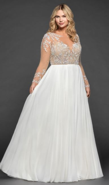 Hayley Paige, Pascal Gown - 6807