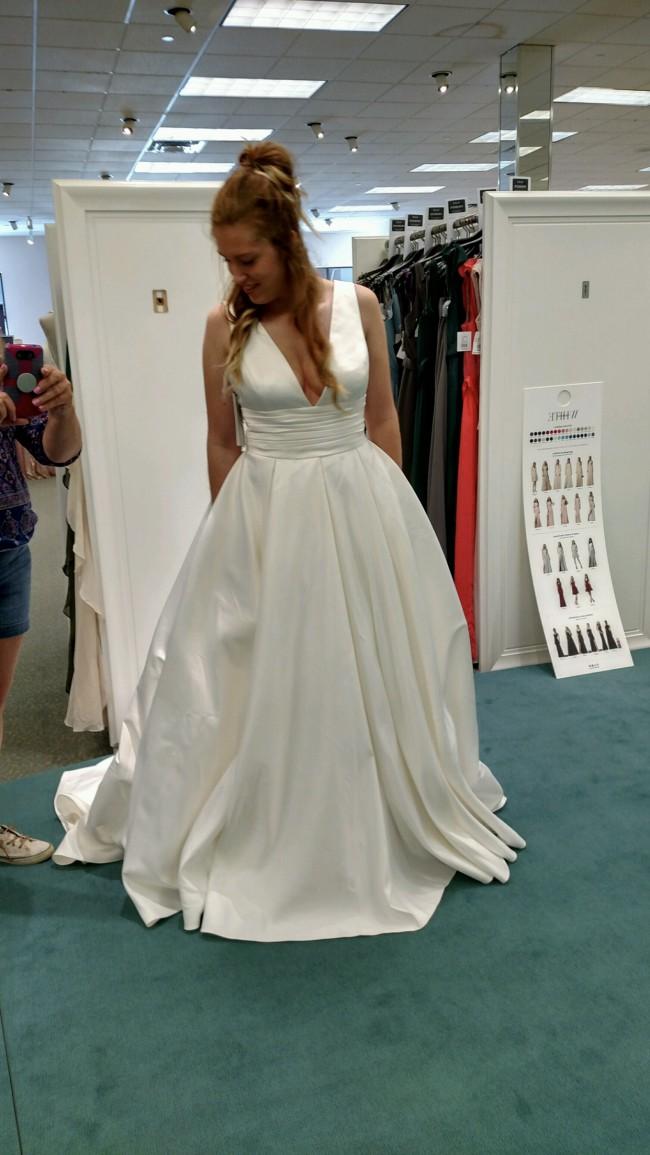 David's Bridal, V3848