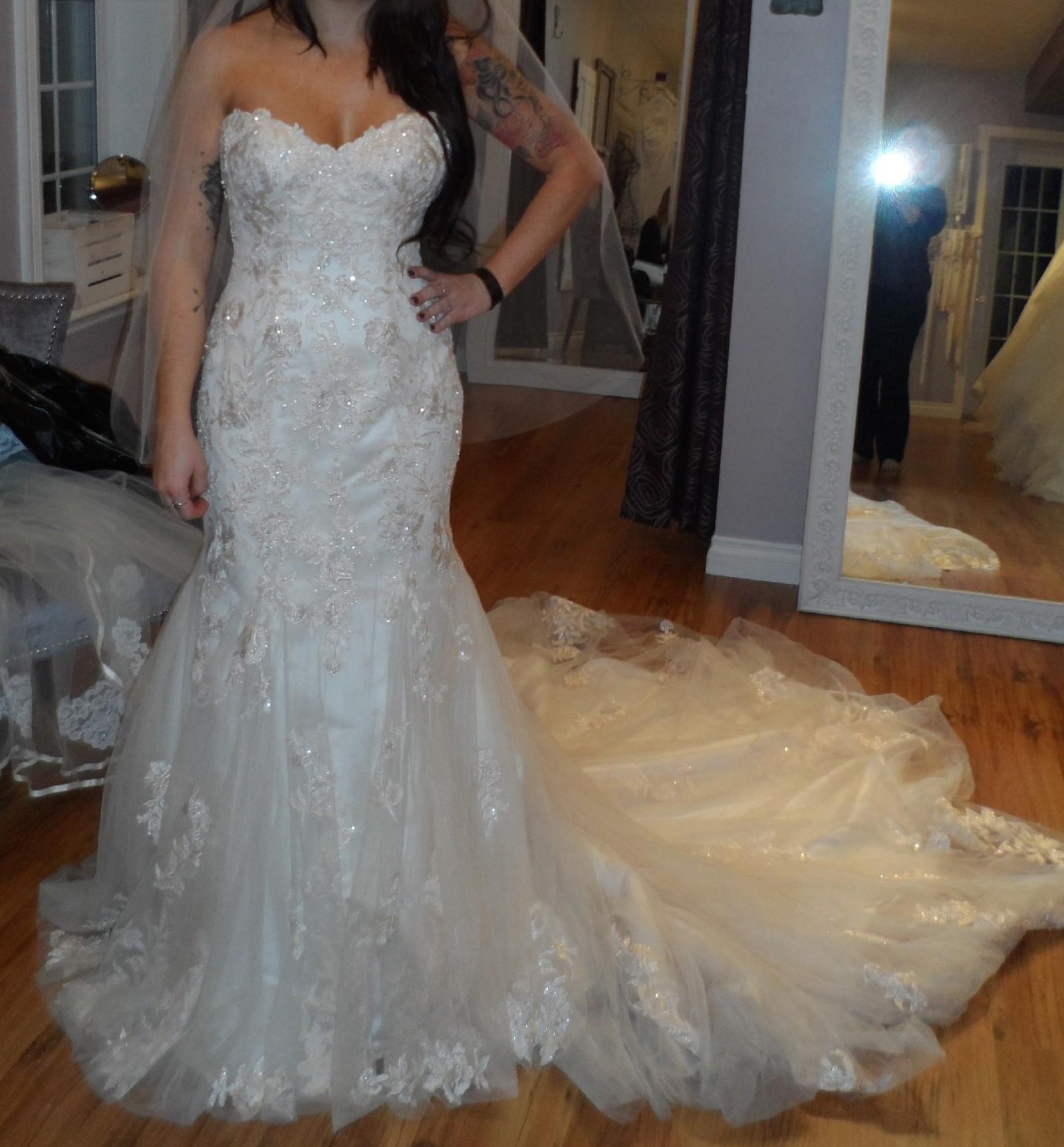 Essense Of Australia Used Wedding Dress Save 69%