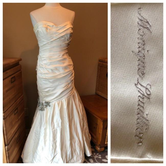 Monique Lhuillier, Khloe Kardasian wore identical dress for her weddi