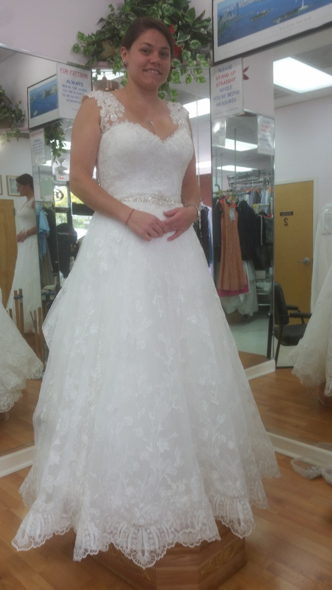 Maggie Sottero Luna, label size 12,  Style No: 6MS281