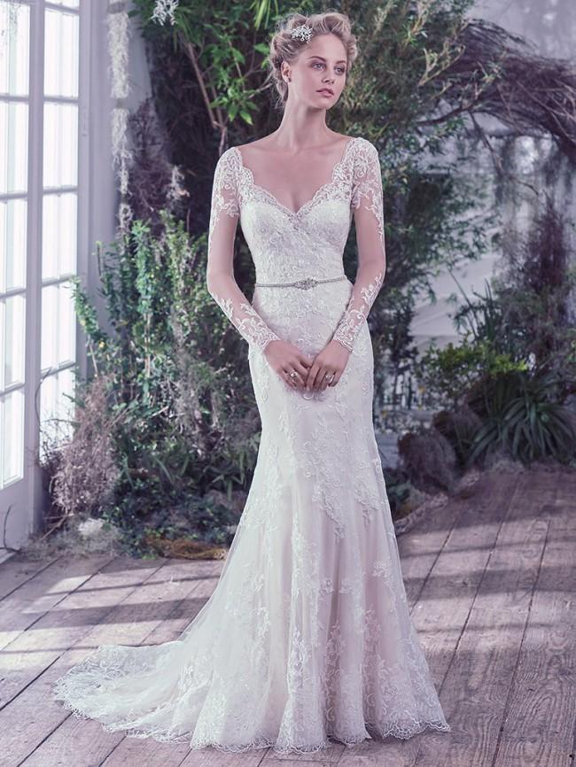 0ef1342b8ed Maggie Sottero Roberta Sample Wedding Dress on Sale 25% Off ...