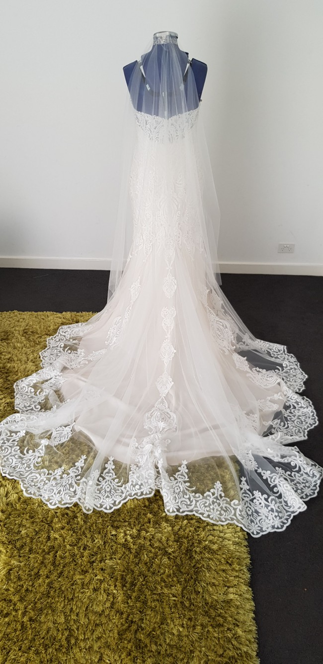 Maggie Sottero, IVORY OVER SOFT BLUSH
