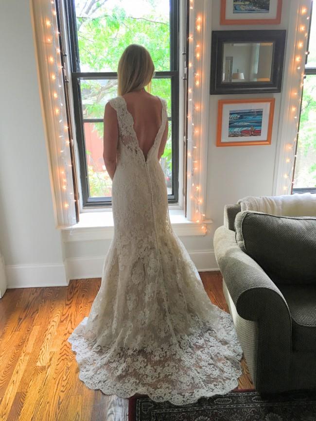 3bd05f71140c Judd Waddell Madeline New Wedding Dress on Sale 75% Off - Stillwhite ...