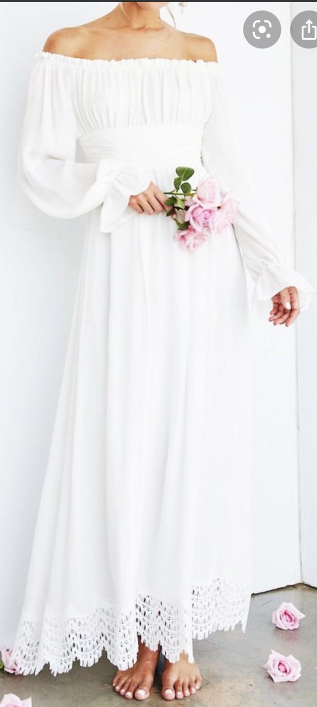 Stone Cold Fox Romance Gown
