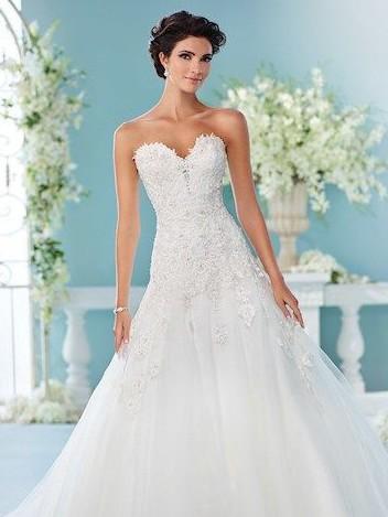 David Tutera 216241 Sample Wedding Dress Save 49 Stillwhite