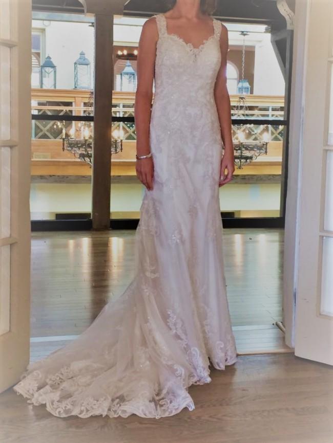 Maggie Sottero Elison Second Hand Wedding Dress On Sale 73 Off