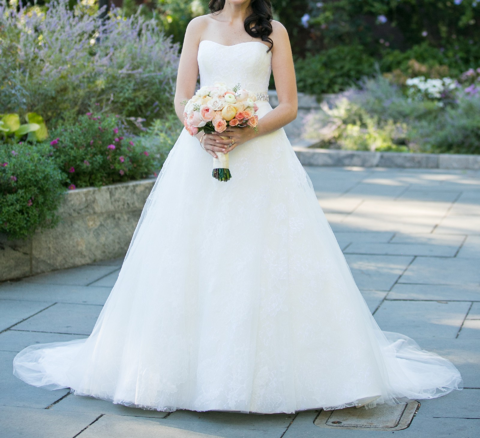 Preowned Wedding Gown: Vera Wang Pandora Preowned Wedding Dress On Sale 83% Off