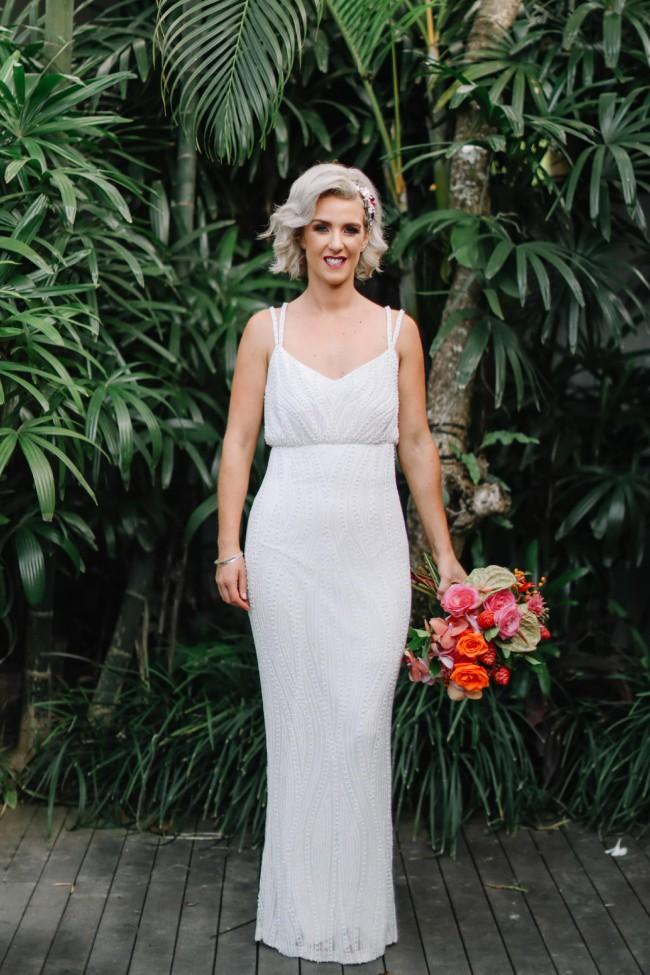 Rachel Gilbert Caeley Gown Ivory