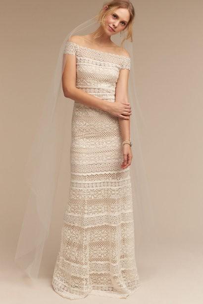 Tadashi Shoji Wedding.Tadashi Shoji Eira Wedding Dress On Sale