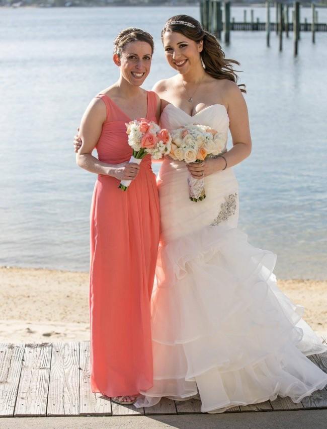 5760f14583f David s Bridal W10841 Used Wedding Dress on Sale 40% Off ...