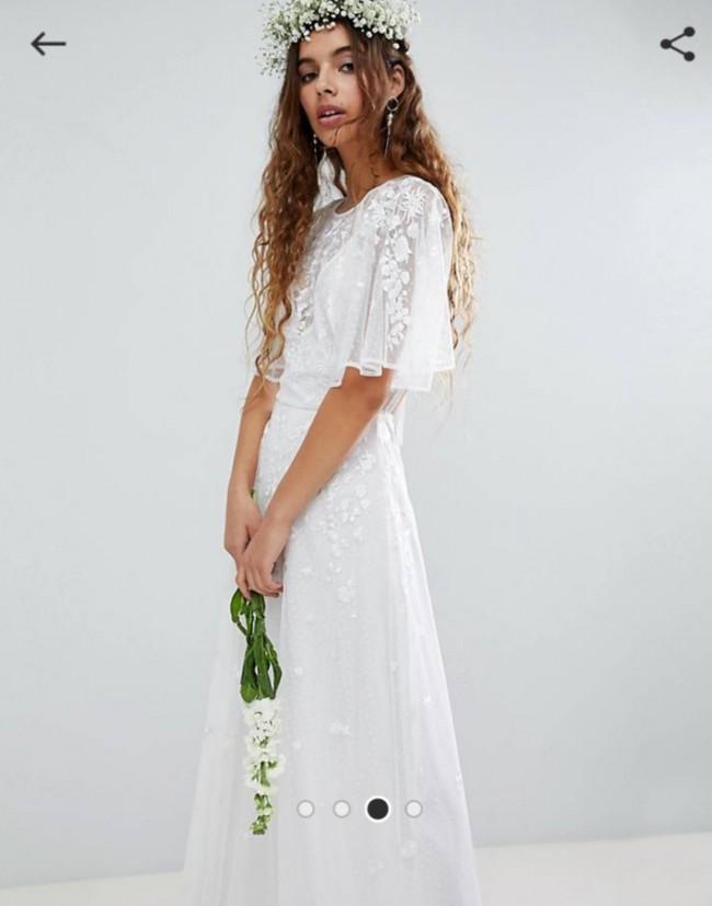 Asos Wedding Dress.Asos Bridal Asos Edition Wedding Dress On Sale