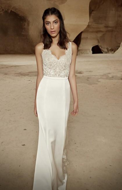 87651b763550 Limor Rosen Ariel Bodice Preowned Wedding Dress on Sale 90% Off ...