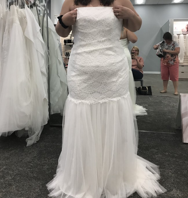David's Bridal VEN STYLE 9KP3765