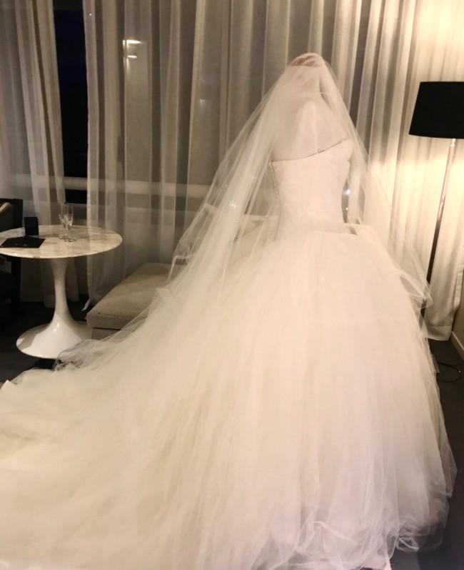 3e57d031e583 Vera Wang Bride Wars original - Kate Hudson ...style 12709 Preloved ...