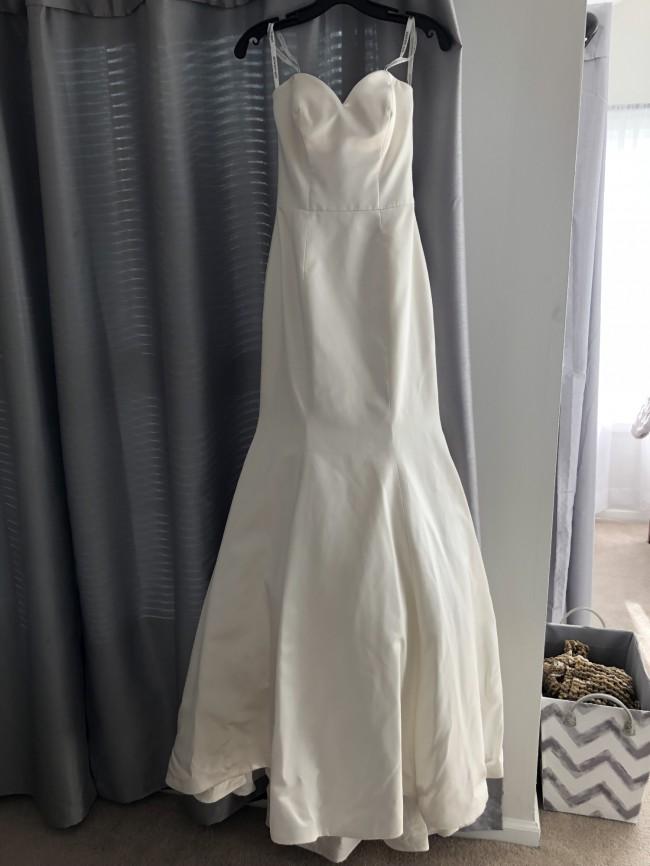 Justin Alexander Jason Alexander mermaid/trumpet gown #8659