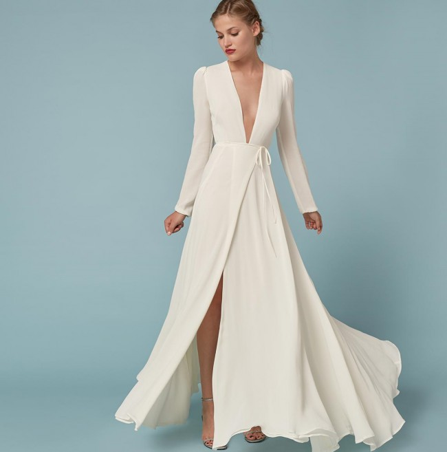 b434d9861322f Reformation Thea dress Preowned Wedding Dress on Sale 38% Off ...