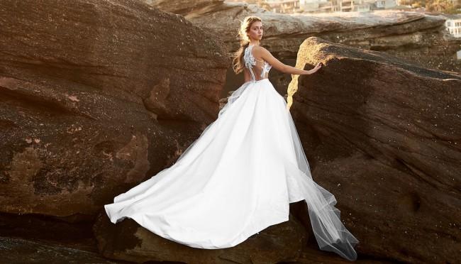 Matrai, Handmade Couture A-line dress