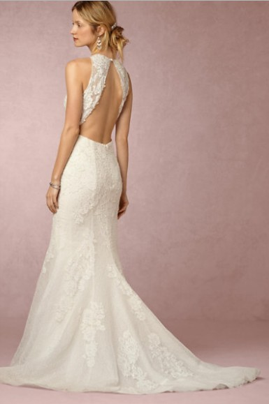 BHLDN, Pronovias White One - Jensen 38836425