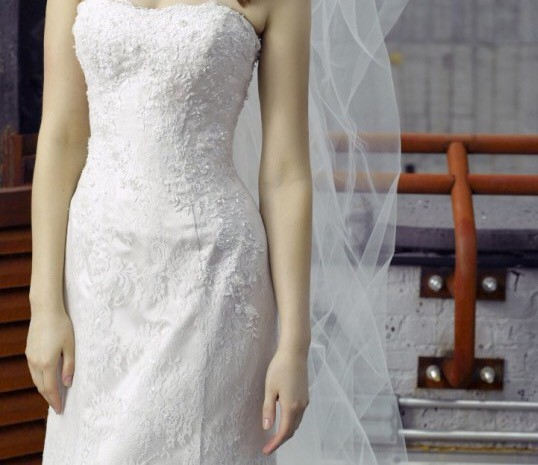 Henry Roth Kelsey Used Wedding Dress On Sale 87% Off