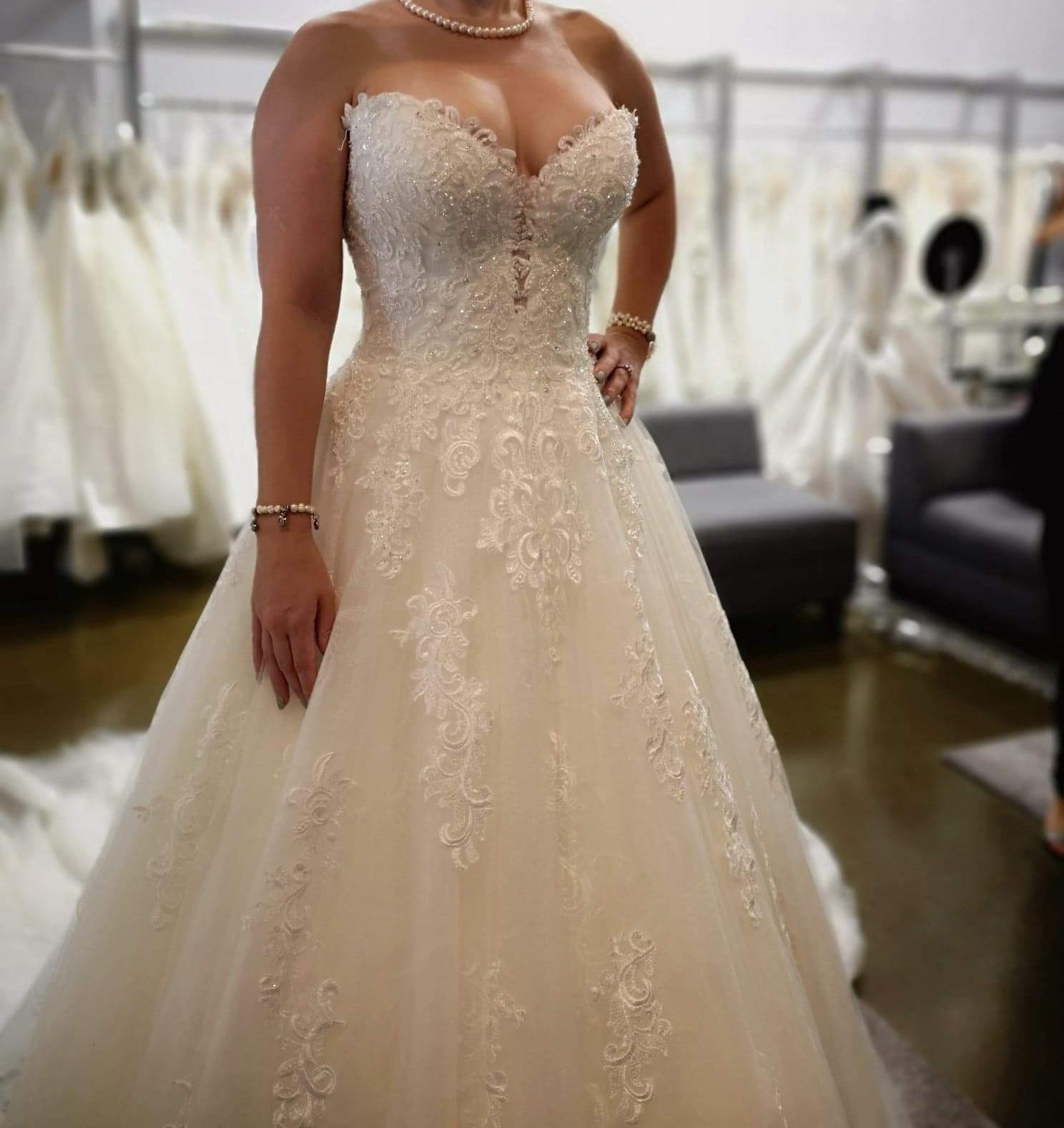 Maggie Sottero Glenn New Wedding Dress On Sale 35% Off