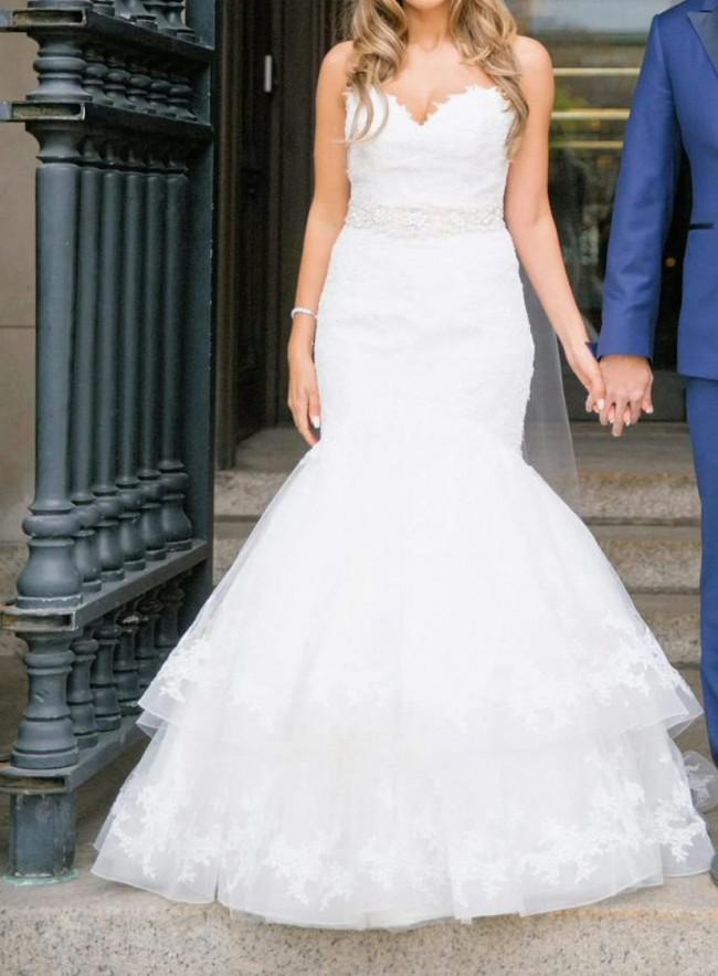 741b4042b1 Nicole Spose Denette Used Wedding Dress on Sale 66% Off - Stillwhite