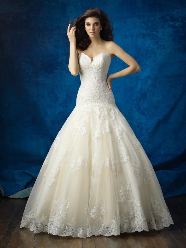 Allure Bridals 9372
