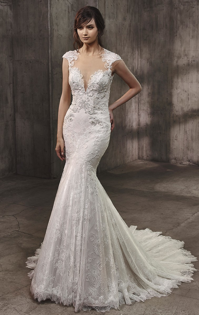 Badgley Mischka Antoinette Sample Wedding Dress On Sale 30