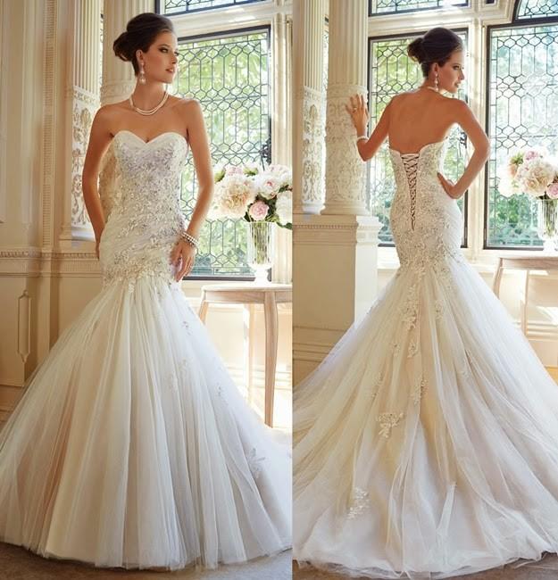 Sophia Tolli Tilda Sample Wedding Dress On Sale 65% Off