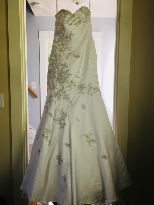 David's Bridal WG3477