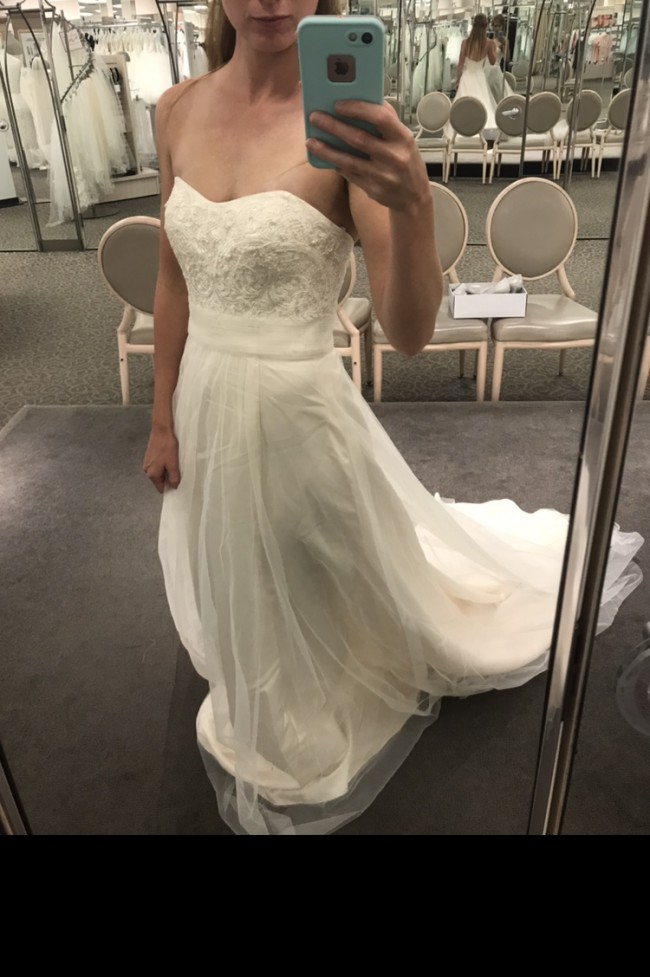 c7f16c9bf7fd7 David's Bridal WG3586 New Wedding Dress on Sale 55% Off - Stillwhite ...