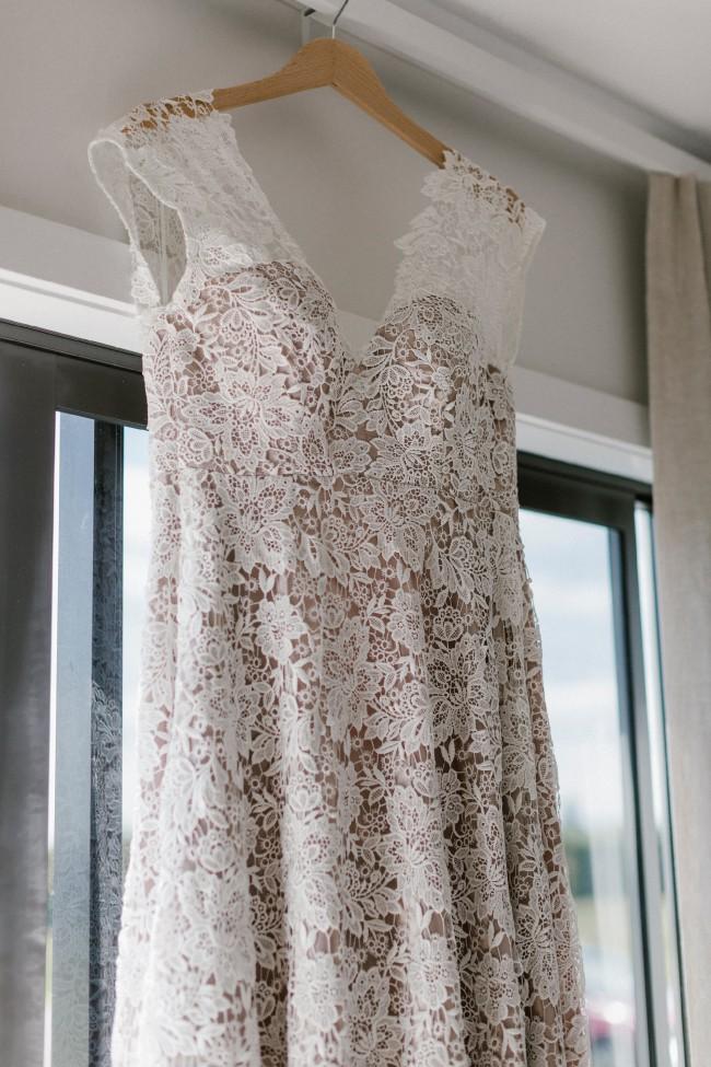 Anna Schimmel Boho Lace Wedding Dress