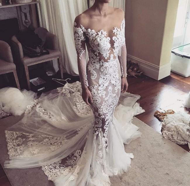 a29d979be02a Leah Da Gloria Second Hand Wedding Dress on Sale 44% Off ...