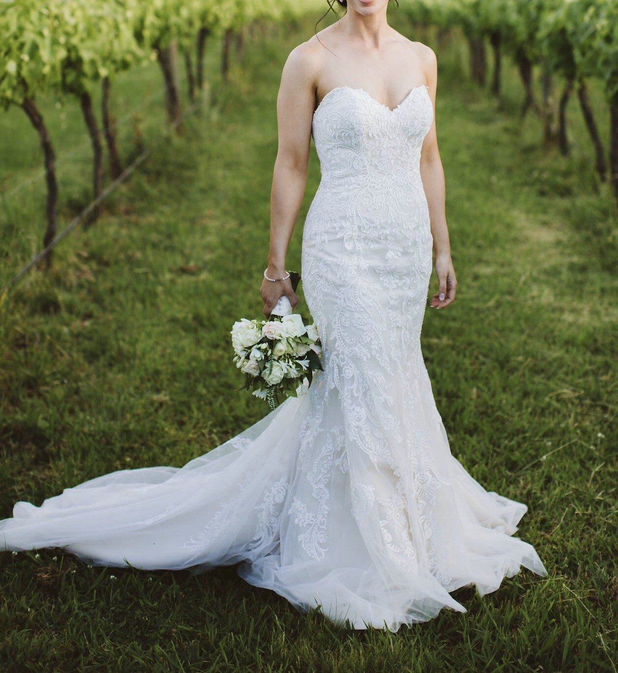 Maggie Sottero Winstyn Preowned Wedding Dress On Sale 43