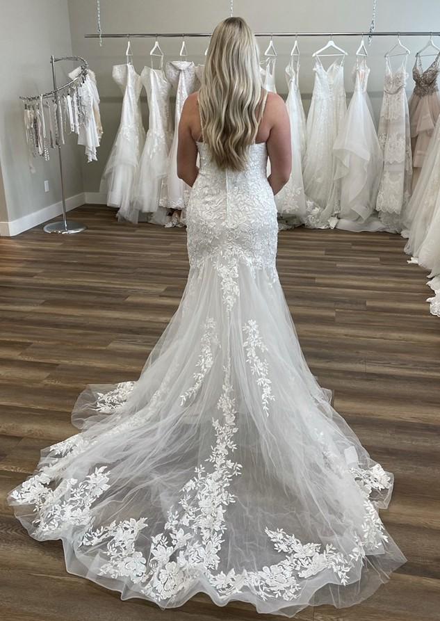 Allure Bridals Allure bridals never worn 9659