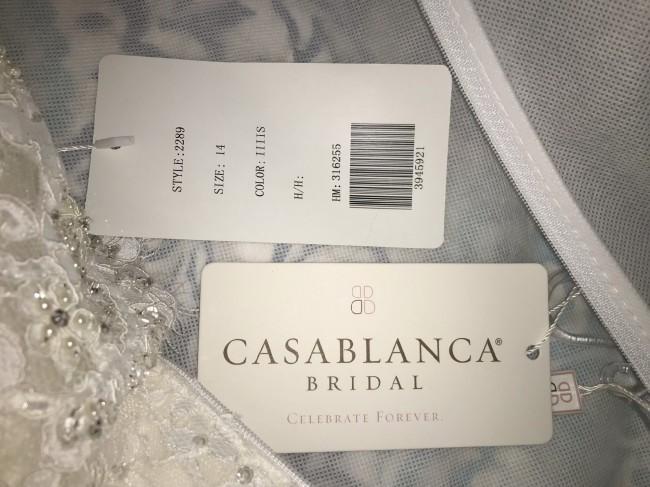 Casablanca Bridal 2289 Amber