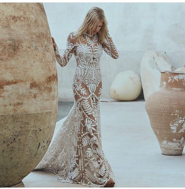 Avril Lavigne Wedding Gown: Rue De Seine Avril Gown New Wedding Dress On Sale 42% Off