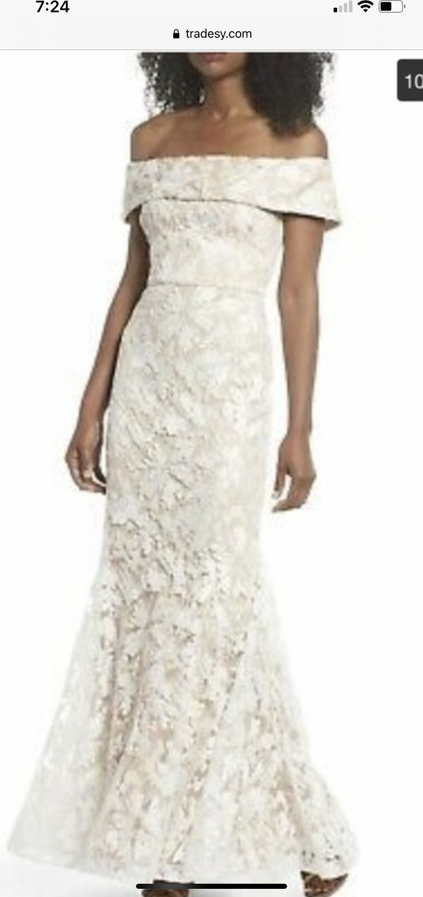 Eliza J New Wedding Dress Save 20   Stillwhite