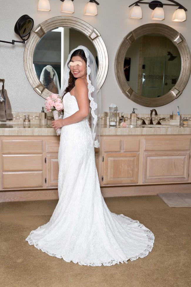 David's Bridal Collection Galina