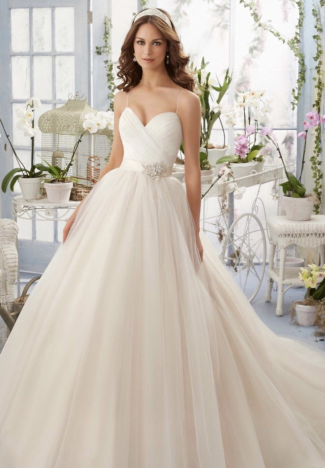 Morilee 5408 Blu Collection
