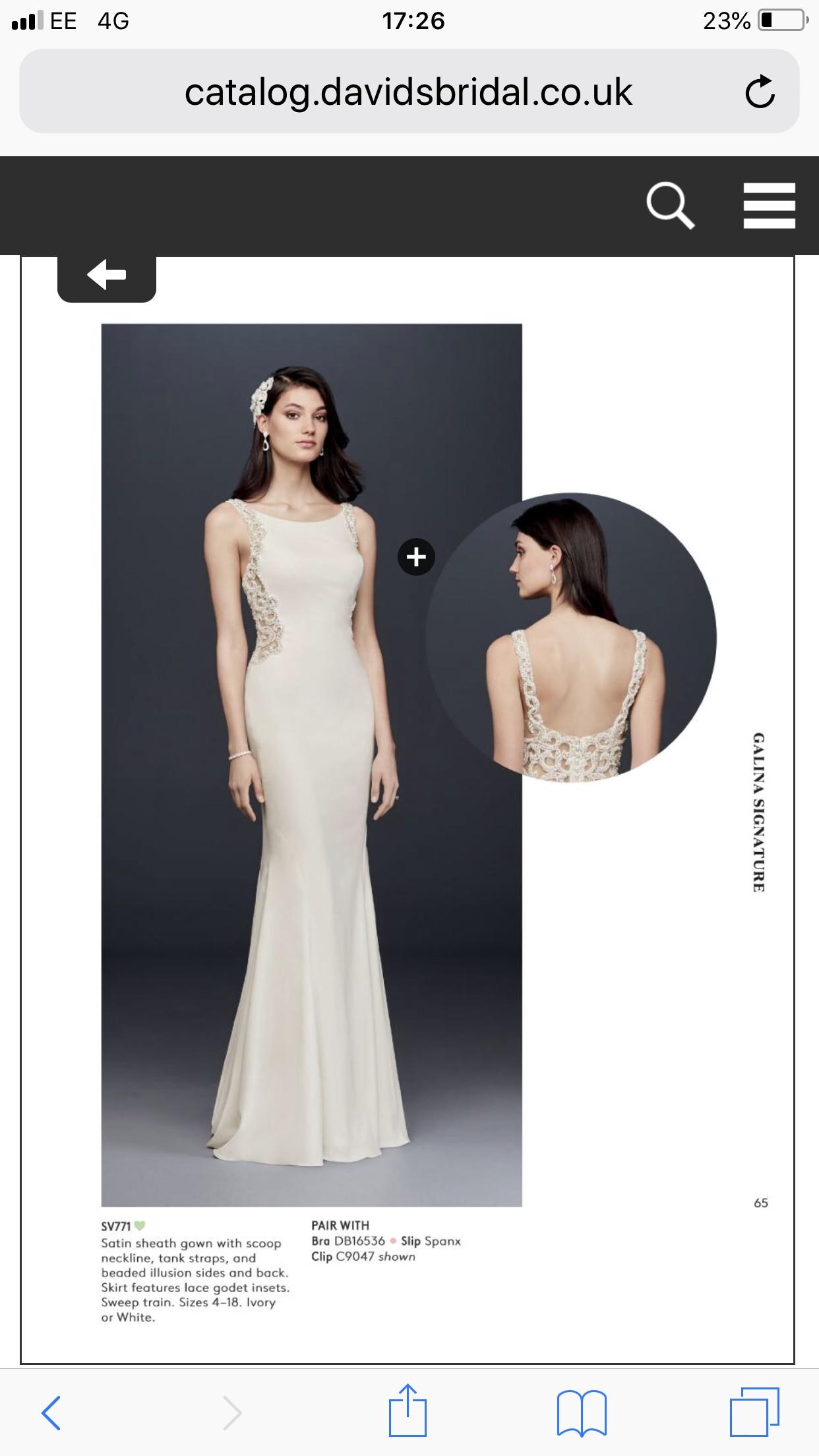 788c9c9a6a32 Davids Bridal Online Cheap Wedding Dresses