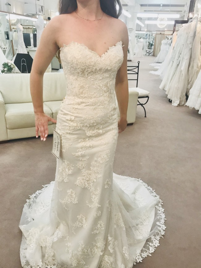 Maggie Sottero 6MR782 Rosaleigh- Ivory Light Gold/Over Pearl