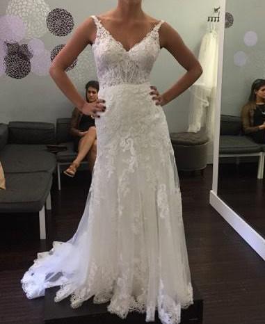 Essense Of Australia D2387 Sexy Lace Boho Wedding Dress Wedding Dress On Sale 54 Off