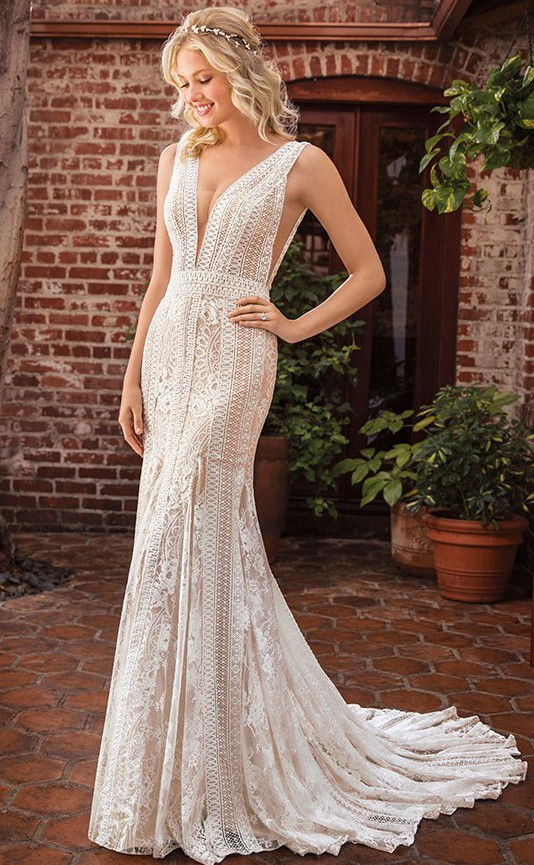 Beloved By Casablanca Bridal BL288 Riley