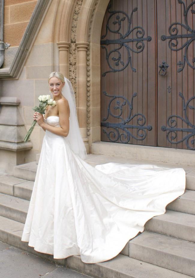 Jane Hill Custom Gown
