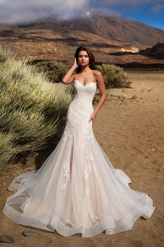 Nora Naviano Juliette Loft Bridal Stephanie 17009 New