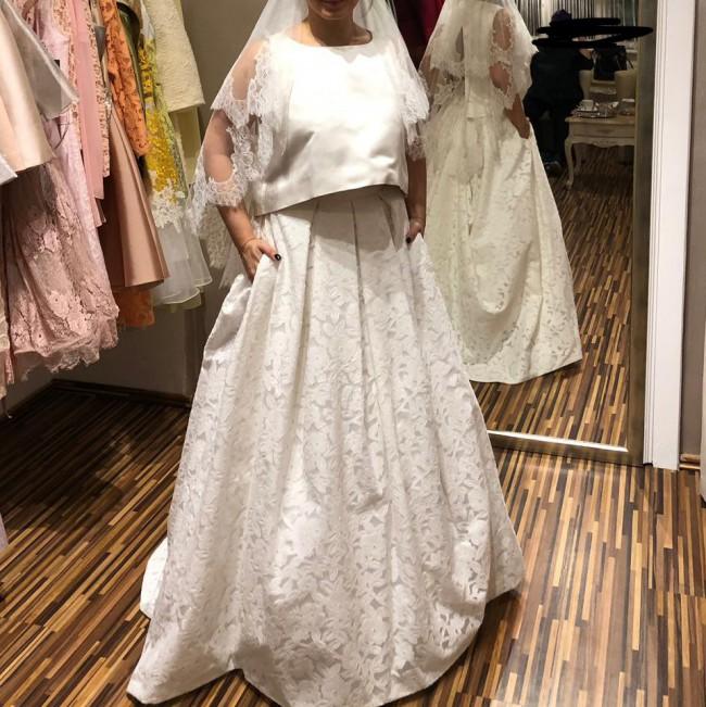 Pronovias Pronovias Separates Xara Skirt plus custom top