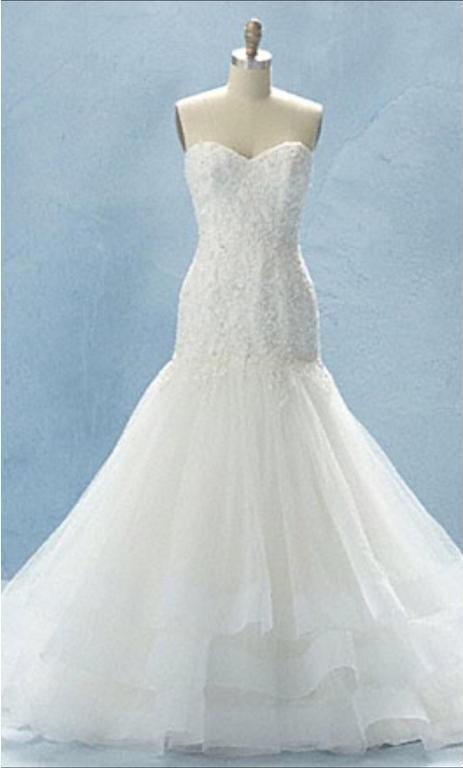 Alfred Angelo Cinderella Style 216 Wedding