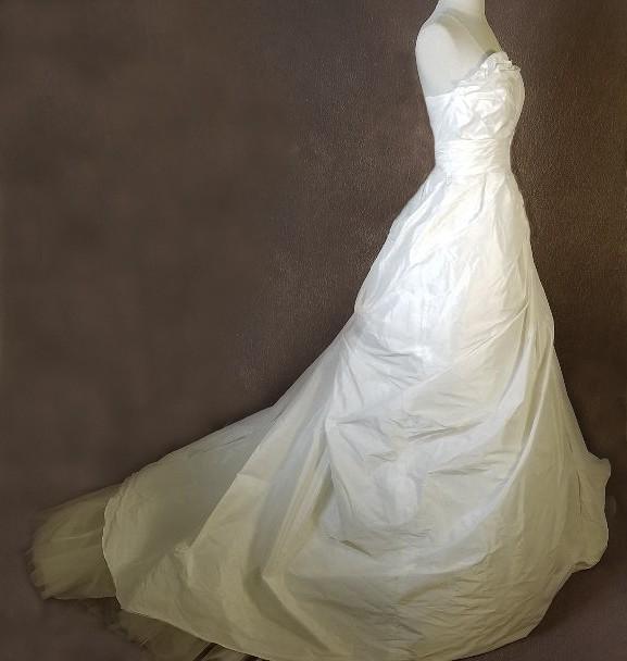 Vera Wang White Used Wedding Dress On Sale 88% Off