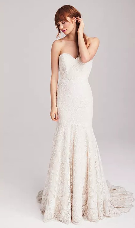 Anne Barge Blue Willow 'Finaly' Wedding Dress